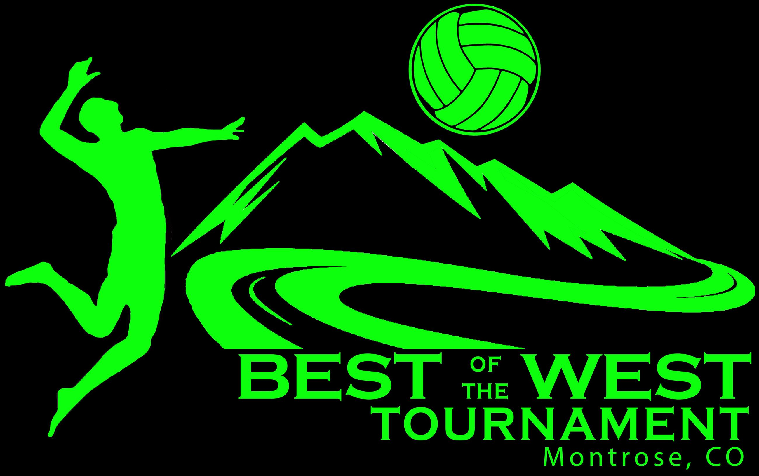 Best of West Volleyball logo